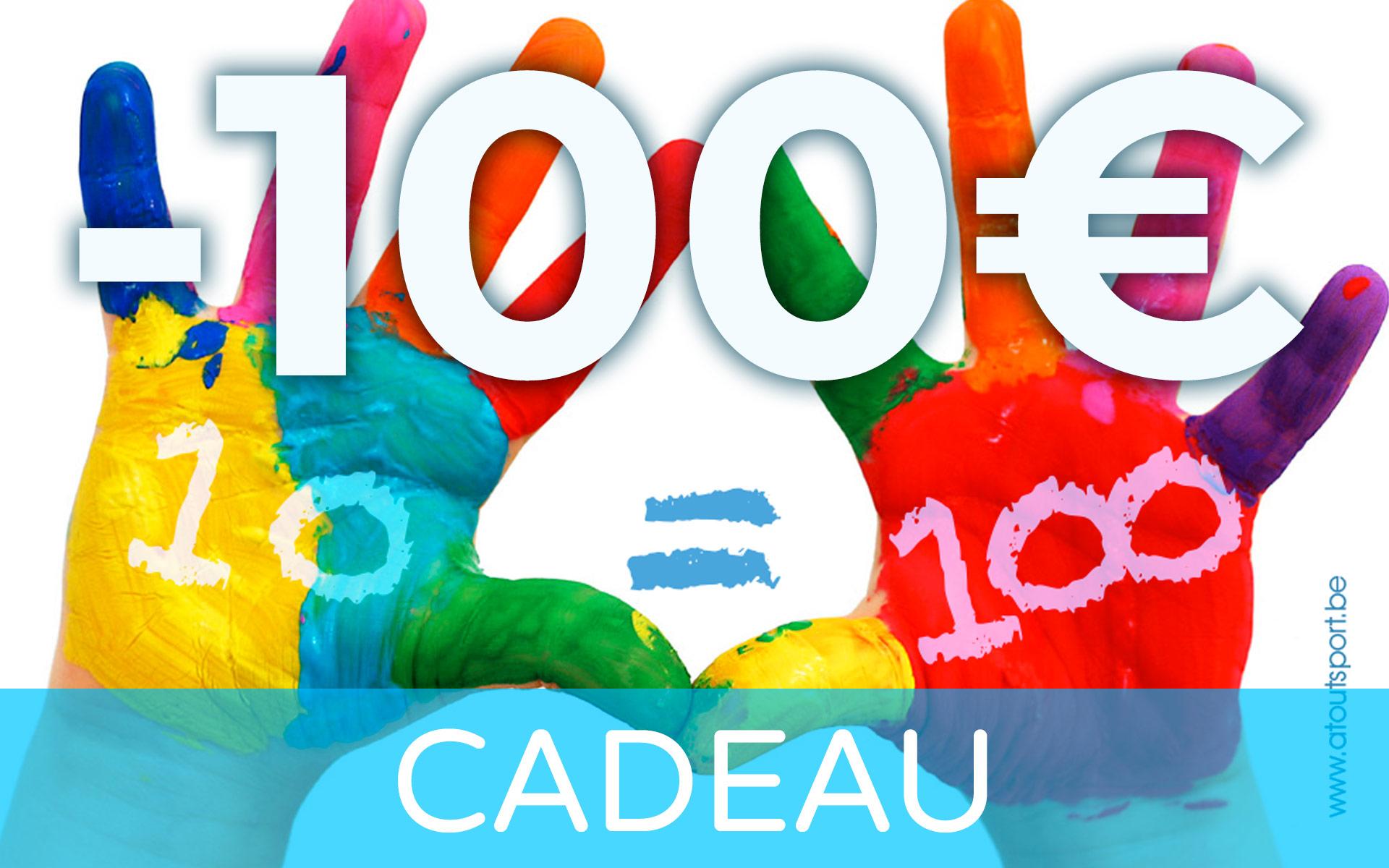 atoutsport.be Cadeau 100Euros